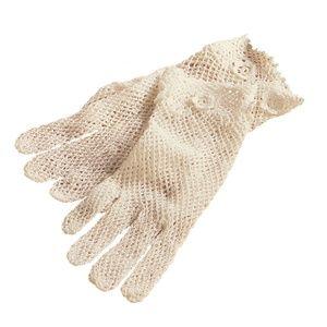 Fine Handmade Crochet Lace Gloves